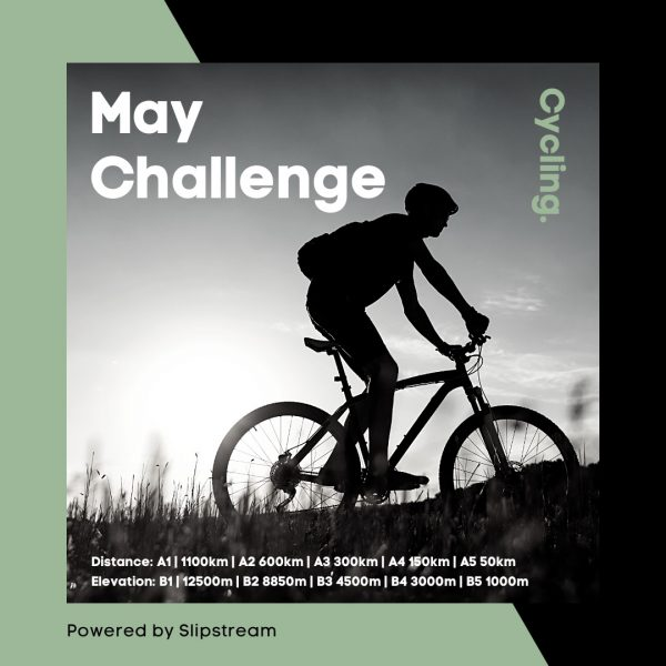 May Cycling with Distance
